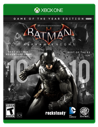 Batman: Arkham Knight | GOTY Box Art Fan-made