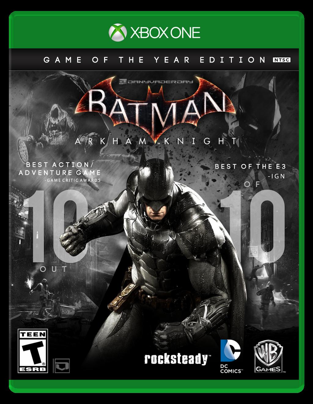 Batman: Arkham Knight   GOTY Box Art Fan-made by ...