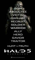 Halo 5 Guardians | Hunt The Truth Poster
