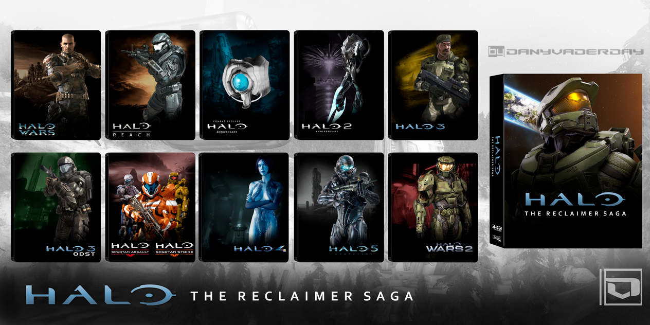 Halo: The Reclaimer Saga by DANYVADERDAY