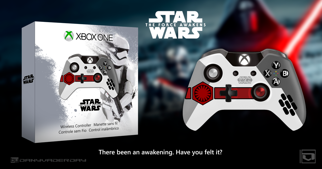 The Force Awakens | Xbox One Controller Fan-Made by DANYVADERDAY