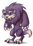 30 Day Monster Challenge - Werewolf by Saokymo