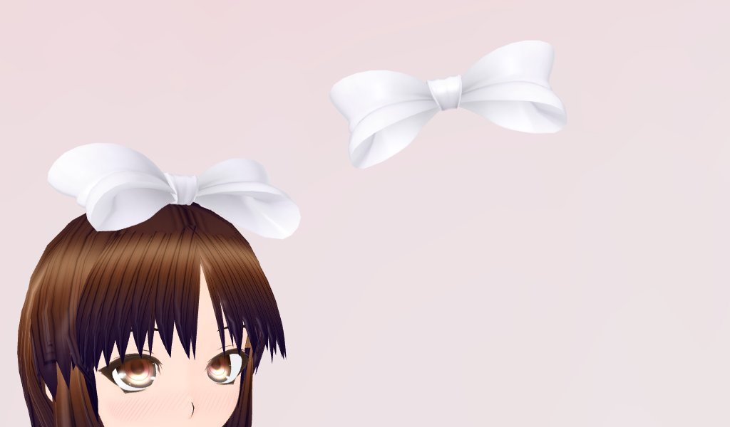 MMD- Hair Bow