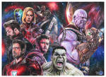 avengers infinity war by Pablicoarts