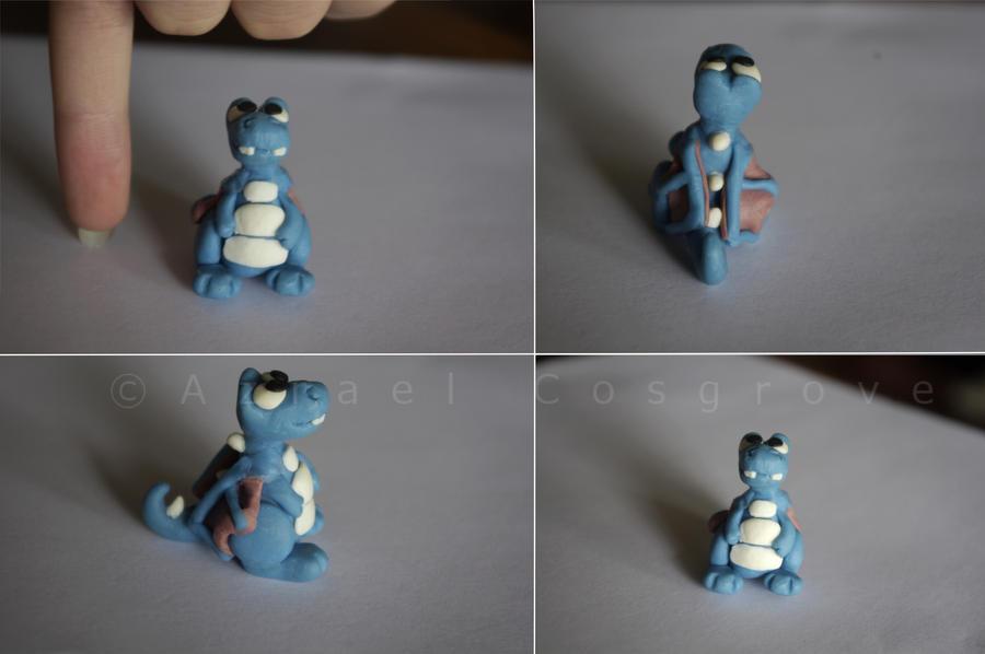 how to make a clay dragon step by step