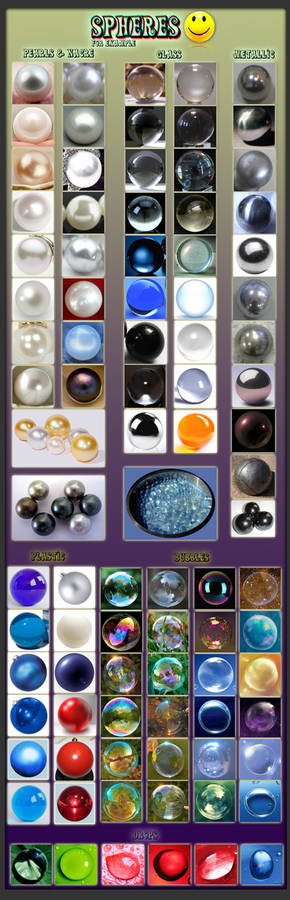 Spheres for example