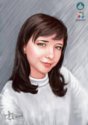 Speed Portrait Painting 02