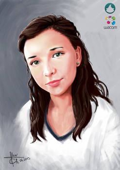 Speed Portrait Painting 01