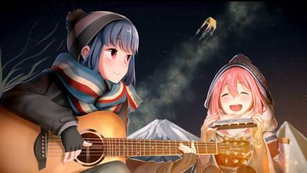Sing with Rin and Nadeshiko