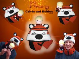 Amaze-ing Calvin and Hobbes by Amaze-ingHats