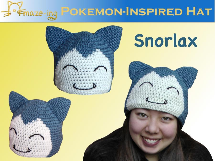 Amaze-ing Snorlax Hat by Amaze-ingHats
