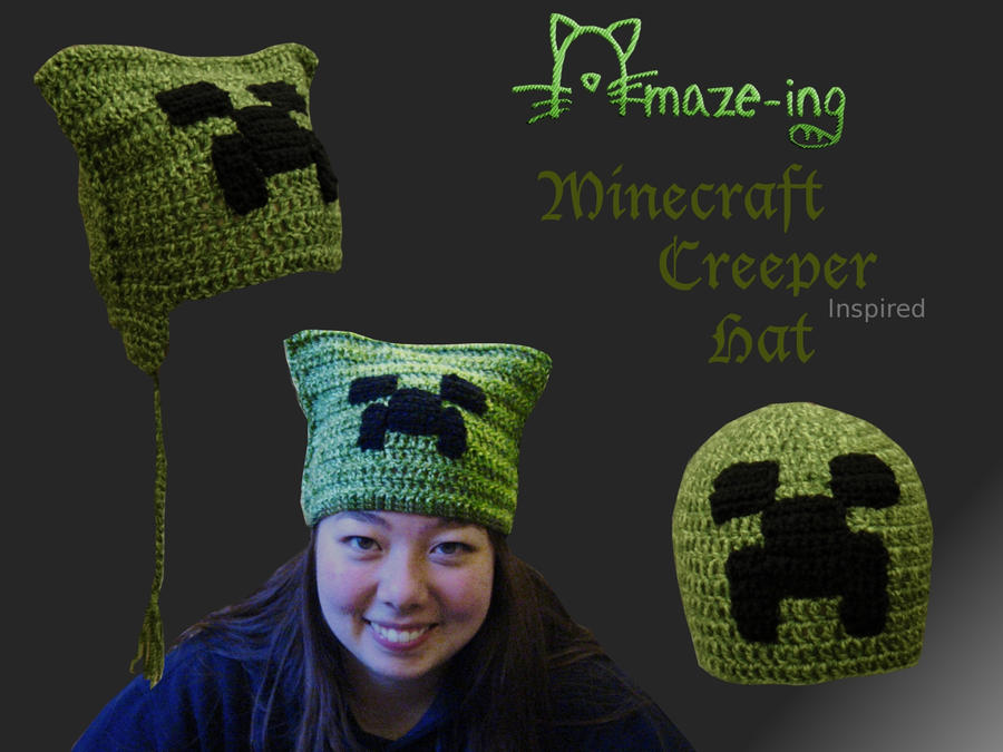 Amaze Ing Minecraft Creeper Hat 2 By Amaze Inghats On Deviantart