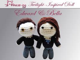 Amaze-ing Edward and Bella Dolls