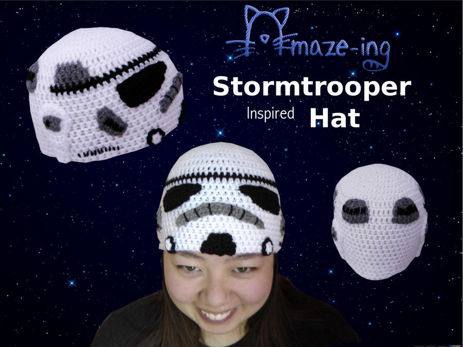 Amaze-ing Stormtrooper Hat by Amaze-ingHats