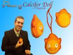 Amaze-ing Calcifer-Inspired Doll by Amaze-ingHats
