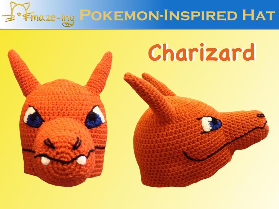 Amaze-ing Charizard Hat by Amaze-ingHats