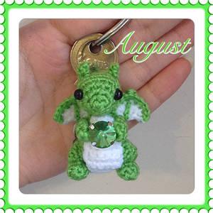 Tiny August Birtshtone Dragon