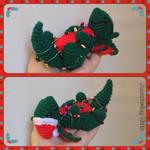 Christmas Dragon with Light