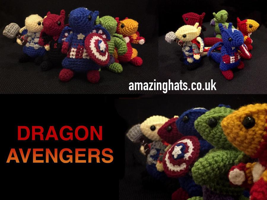 Dragon Avengers by Amaze-ingHats