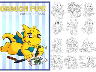 Dragon Colouring Book!