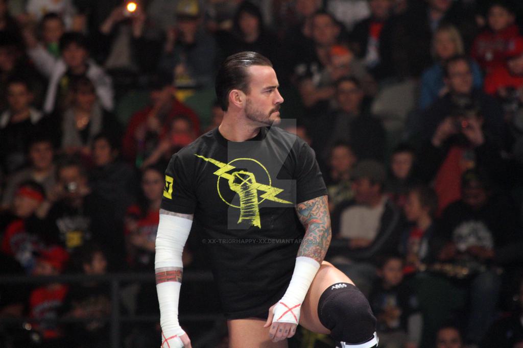 WWE - 2011 - CM Punk - 01 by xx-trigrhappy-xx