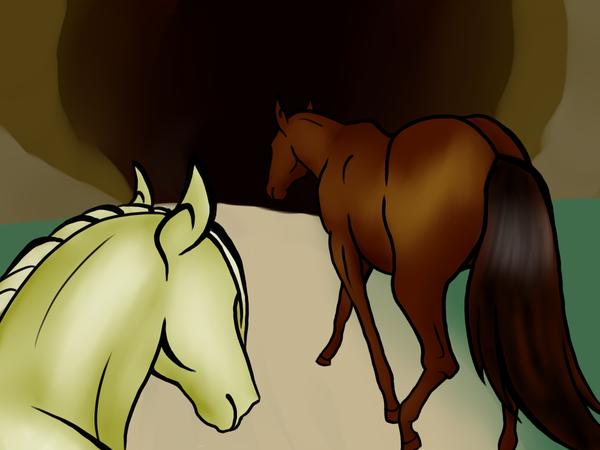 Horses, Again by kijonaia