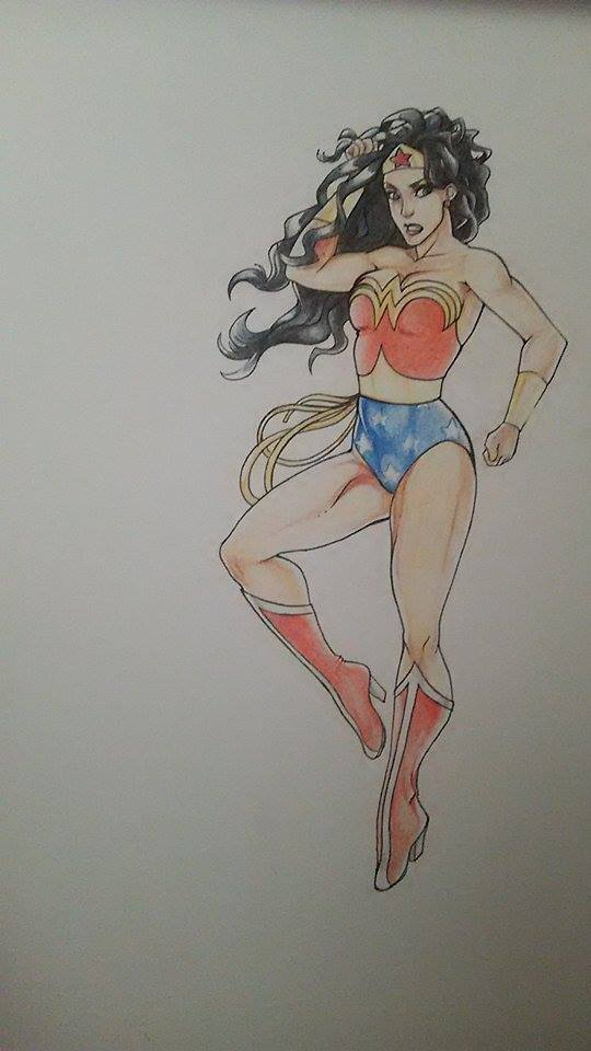 Wonder Woman by kijonaia