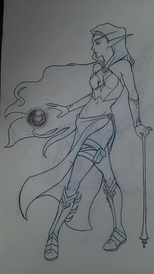 Blood Elf by kijonaia
