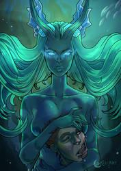 Siren by KijiArt