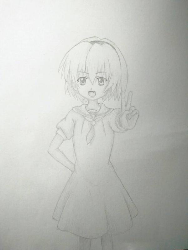 Houjou Satoko by crudert