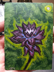 Black Lotus Alter (In memory of Christopher Rush)