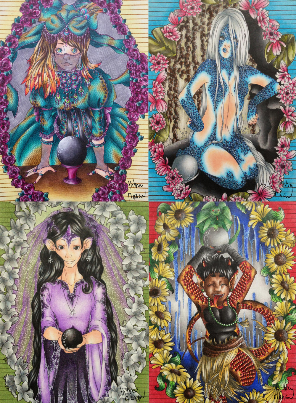 Fortune Tellers Of The World by HitoriMaron