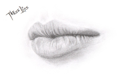 sketch: these lips by rotane