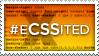 #eCSSited stamp