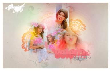 Selena Gomez by iROCKEDxhim