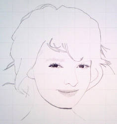 Dakota Blue Richards. WIP Graphite.