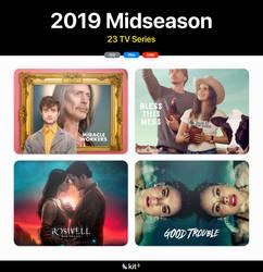 2019 Midseason TV Folder Icons