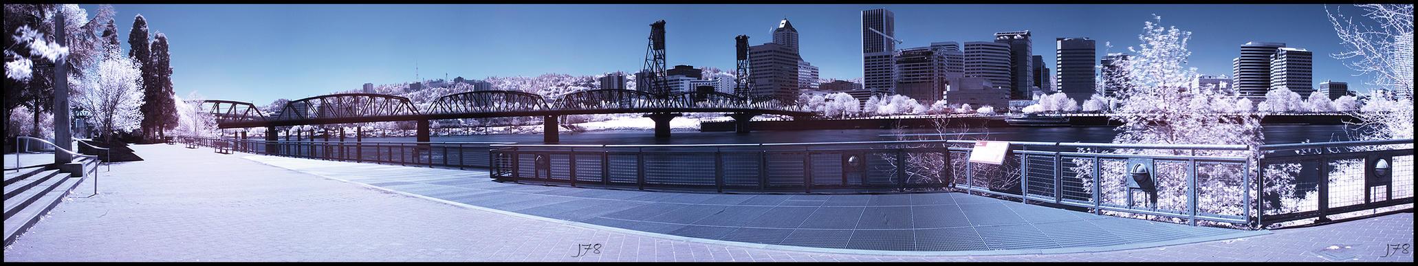IR_River by junkster78
