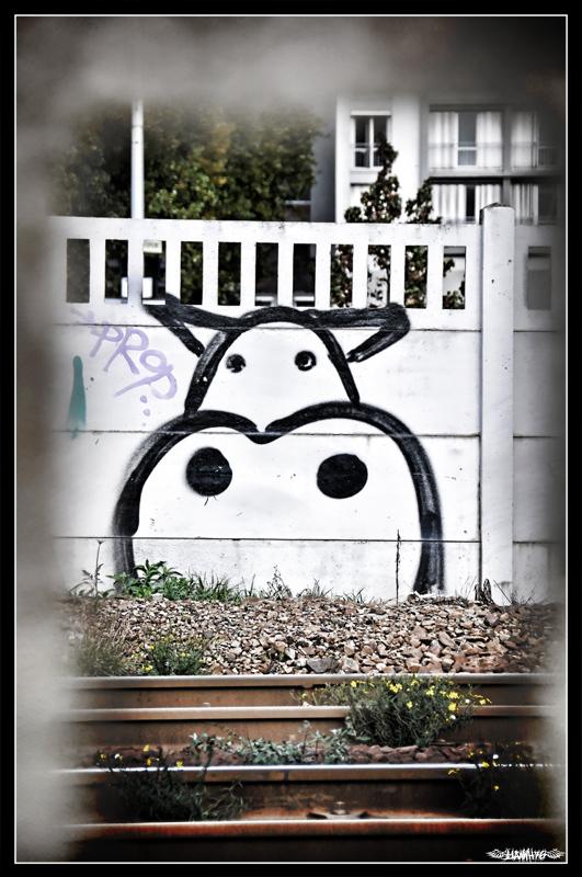 Urban Cow by Yannh76