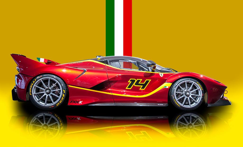 Ferrari FXXK by Yannh76