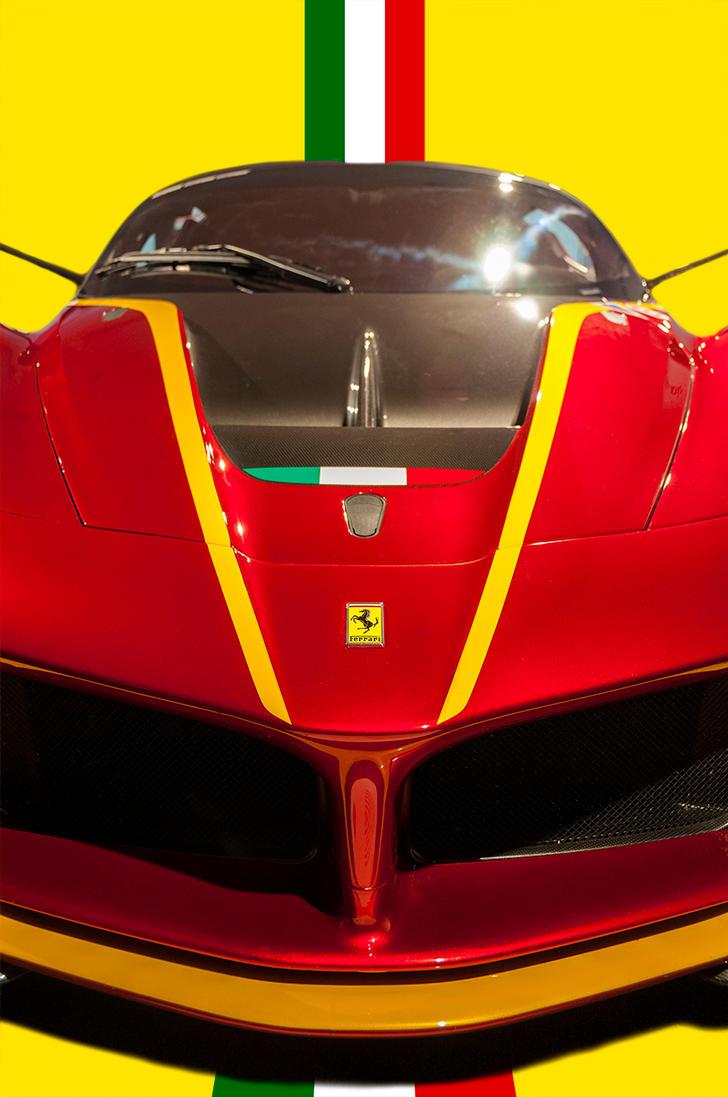 ''Hello'' Ferrari FXXK by Yannh76