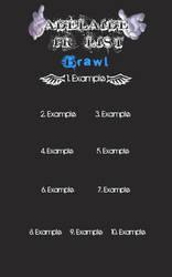 Player Rankings List SA Brawl by tamor