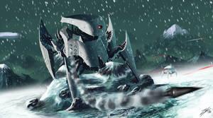 Mountain Stormrobot by ZuluSplitter