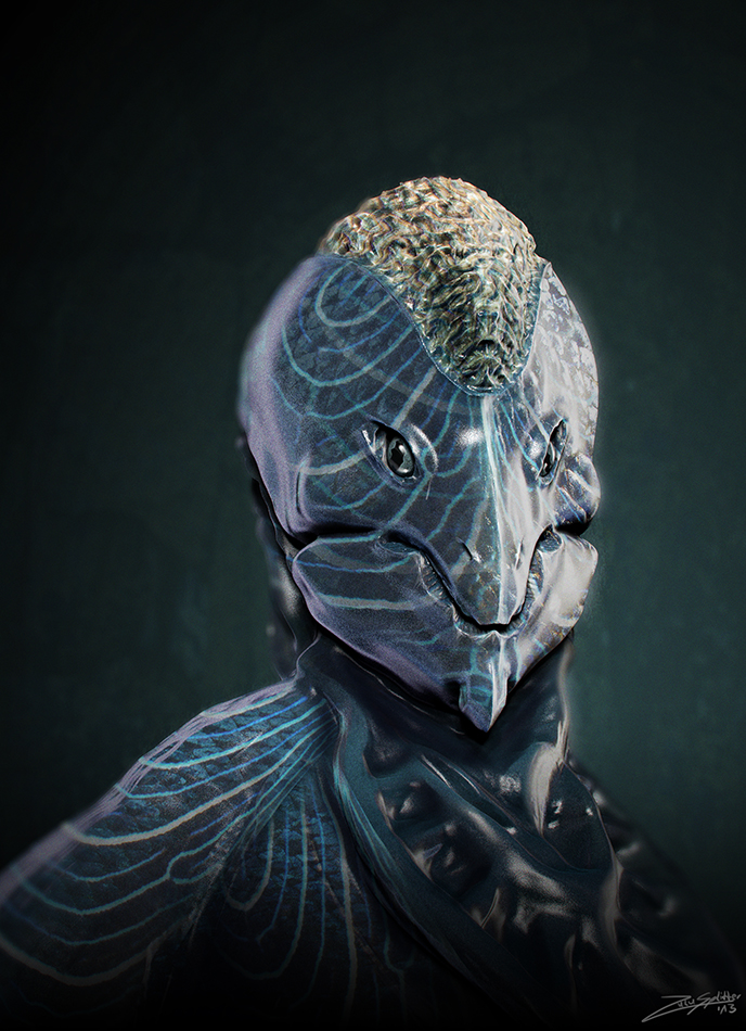 Coralmoraine Portrait by ZuluSplitter
