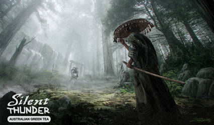 Samurai vs Knight by ZuluSplitter