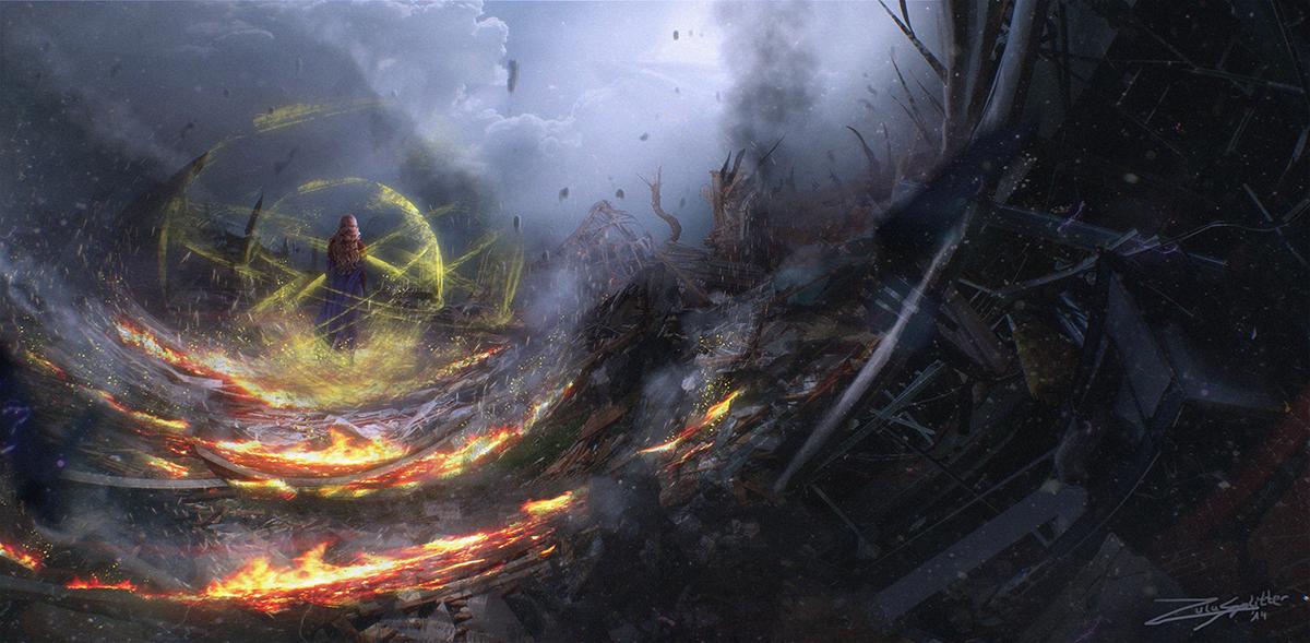 The Chosen One - Fire by ZuluSplitter