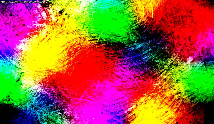 Rainbow Texture by RavenxRyu