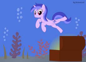 Sea Swirl discovers something... by IronwoodAKACleanser
