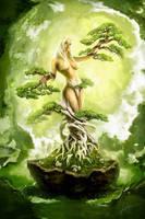 Bonsai - Tree of Life by MichaelO