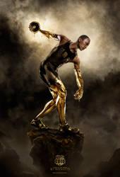 TEAM GOLD Bryan Clay by MichaelO